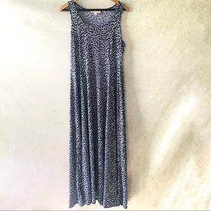 Michael Kors High Slit Maxi Tank Dress
